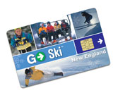 Go Ski Card New England features UNRESTRICTED skiing at YOUR CHOICE of 14 mountains for one low price!  And NO blackout dates!