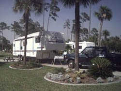 Our site at The Great Outdoors
