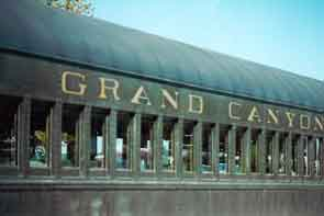 Grand Canyon train at Williams