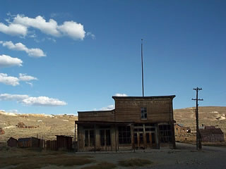 Old Wheaton Hotel in Bodie