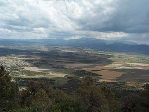 Views of the Mancos valley