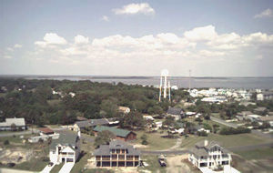 View of Tybee Island from lighthouse
