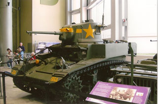 Sherman Tank at the National WWII Museum