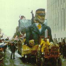 Mardi Gras held yearly each February in the Big Easy