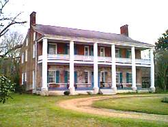 Springfield Plantation, the oldest mansion in the Mississippi Valley