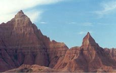 The stark beauty of Badlands
