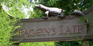Be sure to see the Dragon's Lair with huge Komodo dragons