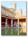 The Roman baths of Bath, England (of course)