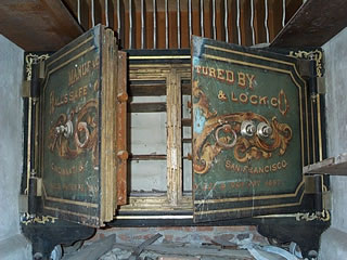 Old Safe at ghost town of Bodie. Not related, just interesting...
