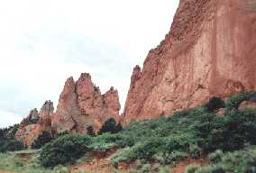 Garden of the Gods at Pike's Peak