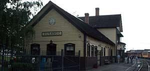 The historic Durango train depot.