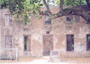the Old Horton House on Jekyll Island
