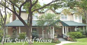 In French colonial style, the Sanford House offers a relaxing stay near all the Dallas and Fort Worth area attractions.