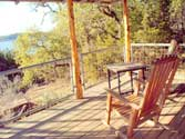 Expansive views of Lake Buchanan from 1920s style cottages at Canyon of the Eagles