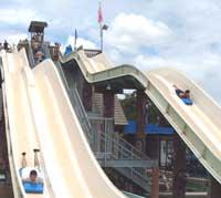 The Downhill Racer at Schlitterbahn Waterpark,New Braunfels,Texas