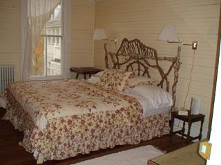 Bedroom at the Balsam Mountain Inn
