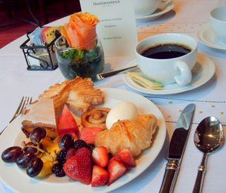 Breakfast at the Hotel Granduca, Houston, Texas