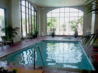 Indoor pool at the Omni San Antonio Hotel