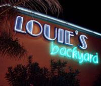 Front of Louie's Backyard