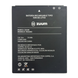 bateria ZUUMMAGNO