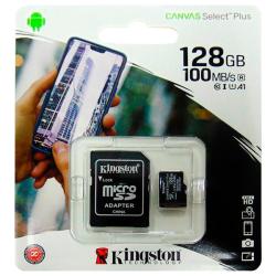 Memoria MicroSD Kingston128GB CLASE 10