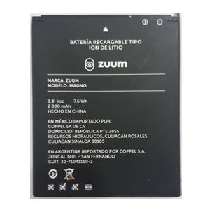 Bateria para celular ZUUM  MAGNO,  y otros.