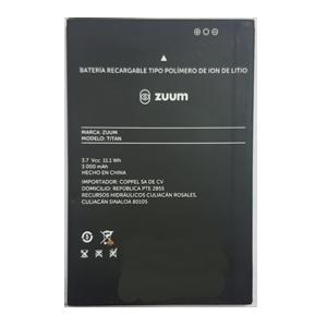 Bateria para celular ZUUM  TITAN,  y otros.