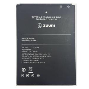 Bateria para celular ZUUM  ULTRA,  y otros.