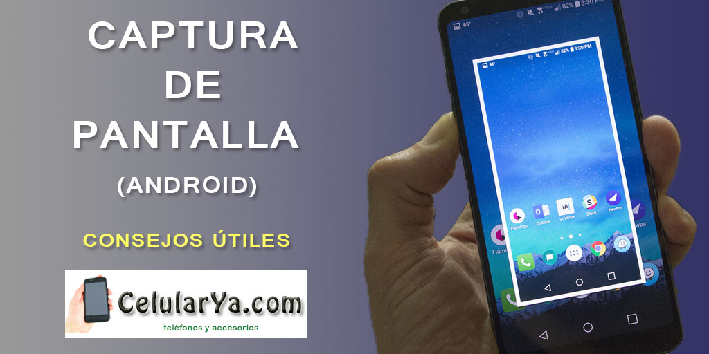 Captura de pantalla en android