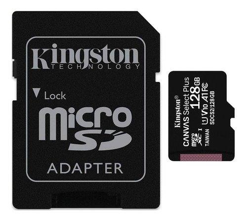 Memoria MicroSD Kingston 128 GB CANVAS SELECT PLUS