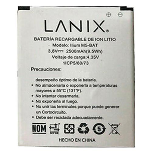 Bateria para celular Lanix  M5,  y otros.