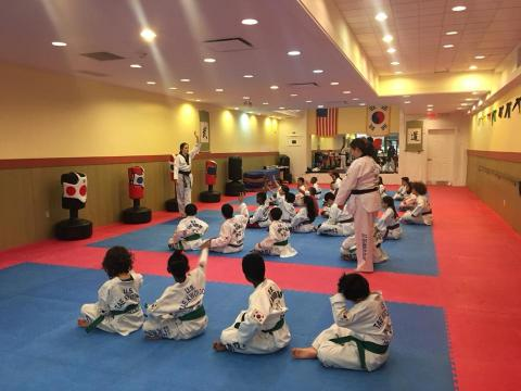 US Tae Kwon Do College in formation.