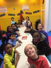 US Tae Kwon Do College After School program.