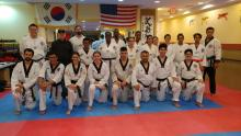 US Tae Kwon Do College Adult group photo.